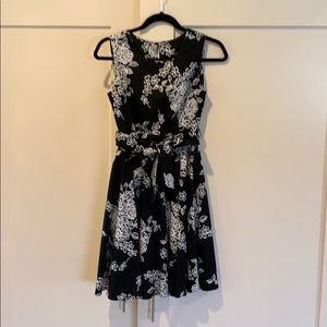 Black and White ModCloth dress
